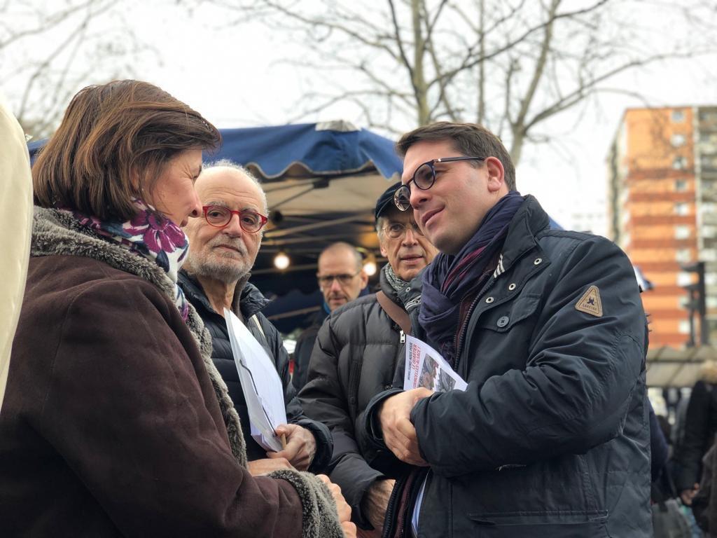 Geoffroy Boulard contre le projet densification Courcelles !